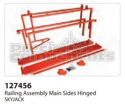 SkyJack Railing Assembly Main Sides Hinged - Part Number 127456