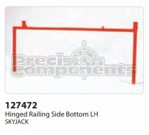 SkyJack Hinged Railing Side Bottom RH - Part Number 127472