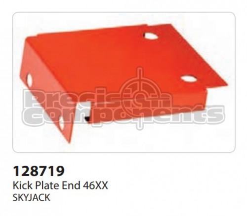 SkyJack Kick Plate End 46XX - Part Number 128719