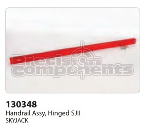 SkyJack Handrail Assembly, Hinged SJII - Part Number 130348