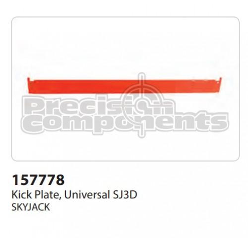 SkyJack Kick Plate, Universal SJ3D - Part Number 157778