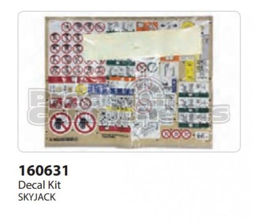 SkyJack Label Kit, VL, SJIII 3215/3219 - Part Number 160631
