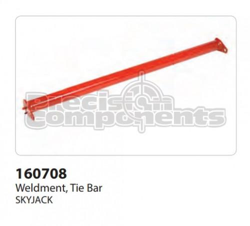 SkyJack Weldment, Tie Bar - Part Number 160708