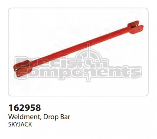 SkyJack Weldment, Drop Bar - Part Number 162958