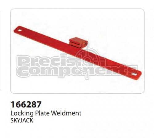 SkyJack Locking Plate Weldment - Part Number 166287