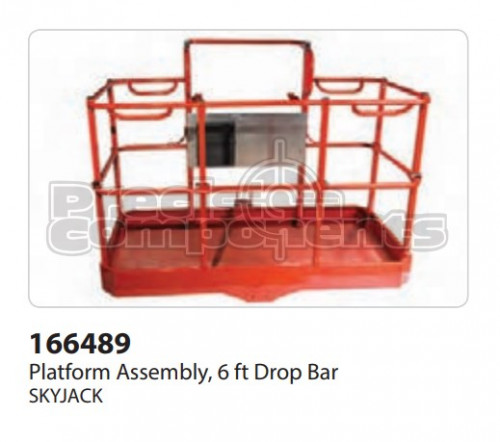 SkyJack Platform Assembly, 6' Drop Bar - Part Number 166489