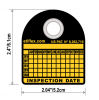 REFILL: 100 Six-Year Periodic Inspection Tags